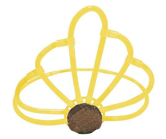 Coroa Neon Amarelo