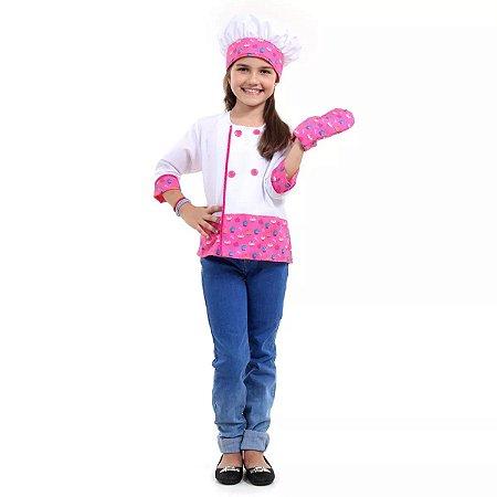 Barbie Cozinheira tam P 3 a 4 anos