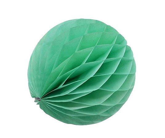 Enfeite Colmeia de Papel Verde30cm