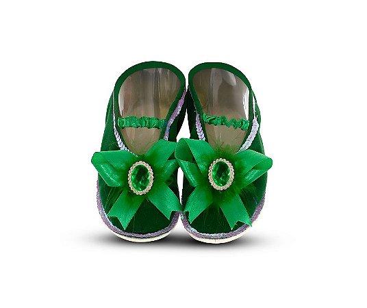 Sapatilha Princesa Verde 34/35