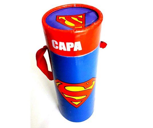 Capa Do Super Homem Infantil tam Único