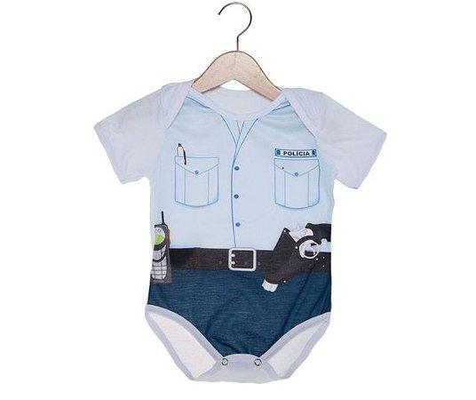 Fantasia Body Policial P 3 Meses
