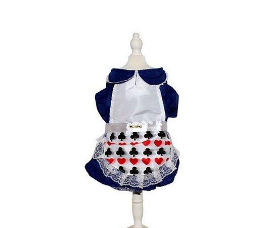 Fantasia Vestido Alice Pet PP