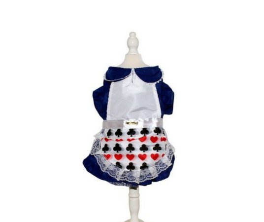 Fantasia Vestido Alice Pet M
