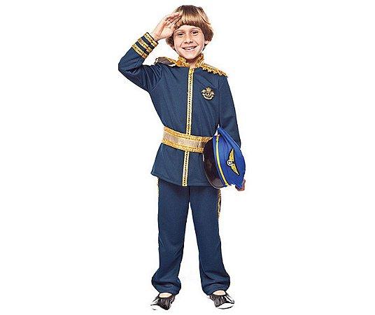 Fantasia Força Aérea menino infantil tam 10