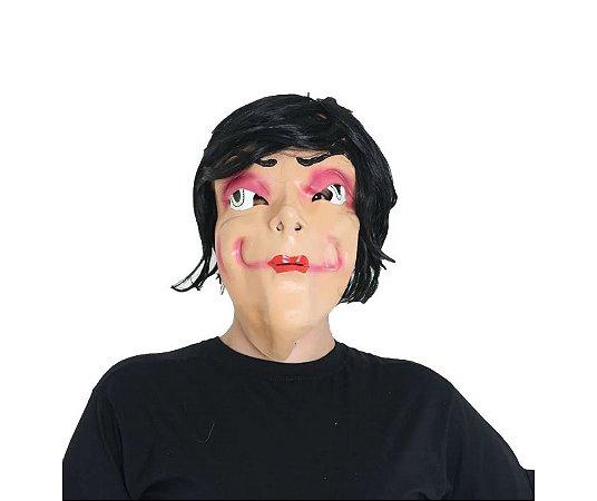 Máscara Mulher com Franja Adulto