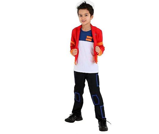 Fantasia Mutante Rex M - 6 a 8 anos
