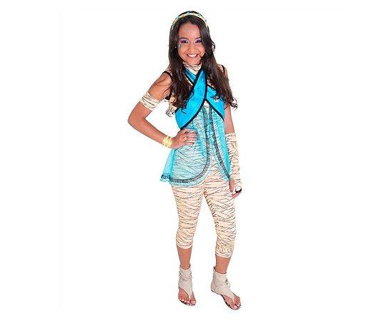 Fantasia Cleo de Nile Monster High P 2 a 4 anos