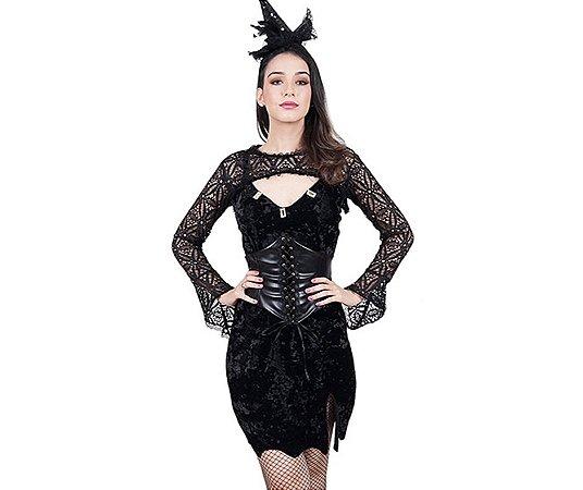 Fantasia Vestido Friara Adulto tam M - Adulto - Usado