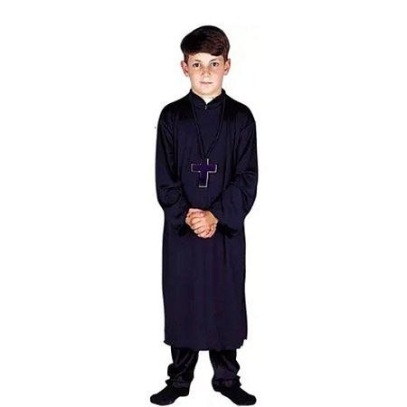 Fantasia Padre Infantil tamanho P 2 a 4 anos