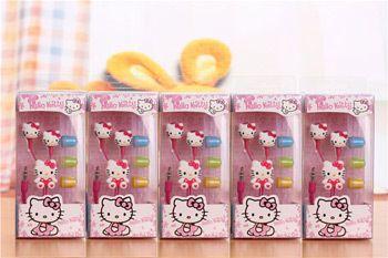 Fone De Ouvido Personalizado Hello Kitty Entrada P2 Estampa Sortida