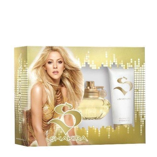 Kit Perfume S By Shakira Feminino Eau De Toilette 80 Ml + sllky body lotion 100 ml