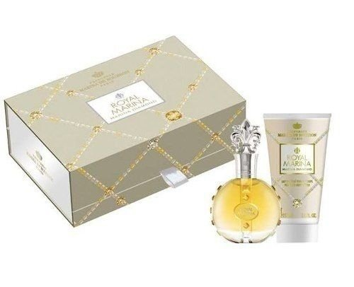 kit Royal Marina Diamond Eau de Parfum Marina de Bourbon - Perfume 100ml + Loção Corporal 150ml