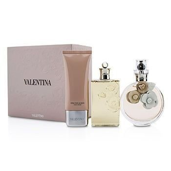 Kit Valentina EDP Valentino - Perfume Feminino 80ml + Shower gel 50ml +Body Lotion 50ml