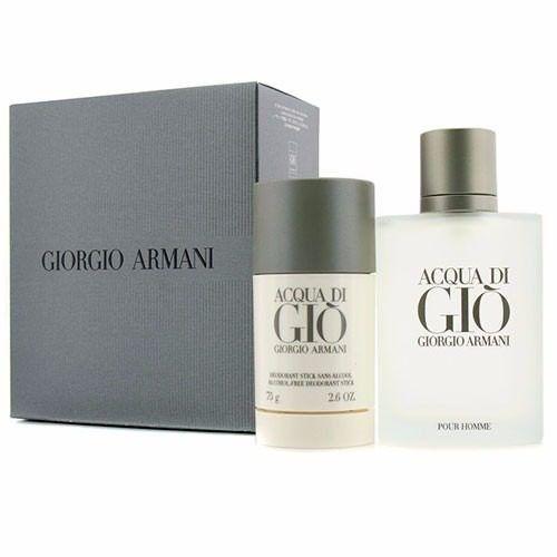 1d22ddecc6979 Kit Acqua Di Gio Eau de Toilette Giorgio Armani - Perfume Masculino 100 ml  + Desodorante