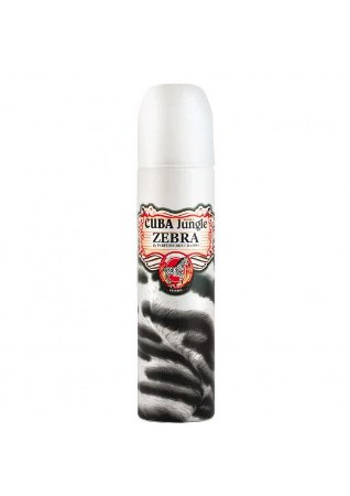 Jungle Zebra Eau de Parfum Cuba - Perfume Feminino 100 ml