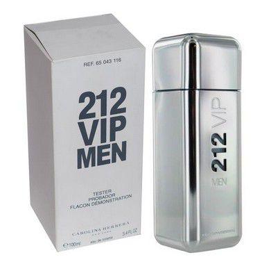 Téster 212 Vip Men Eau de Toilette Carolina Herrera - Perfume Masculino 200 ML
