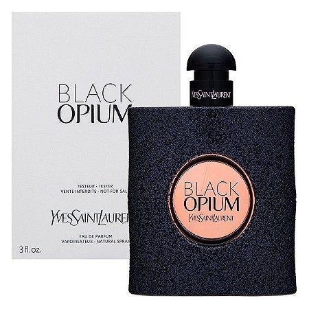 Téster Black Opium Eau de Toilette Yves Saint Laurent - Perfume Feminino 90 ML