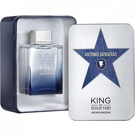 King Of Seduction Eau de Toilette Perfume Masculino 200ML