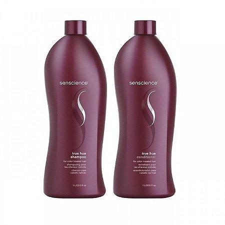 Kit Senscience True Hue Shampoo + Condicionador True Hue 1000 ML