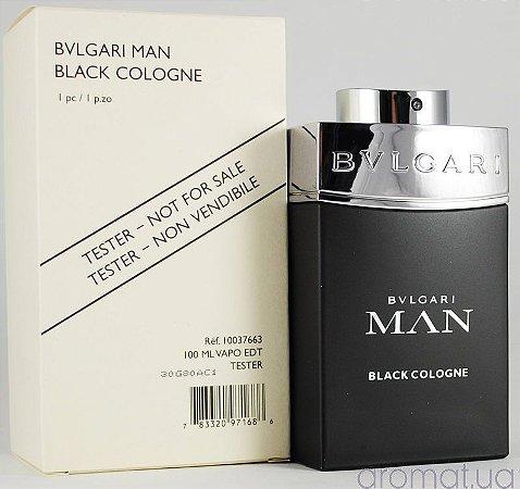 082b8065c769b Tester Bvlgari Man Black Cologne - Perfume Masculino - Perfumes ...