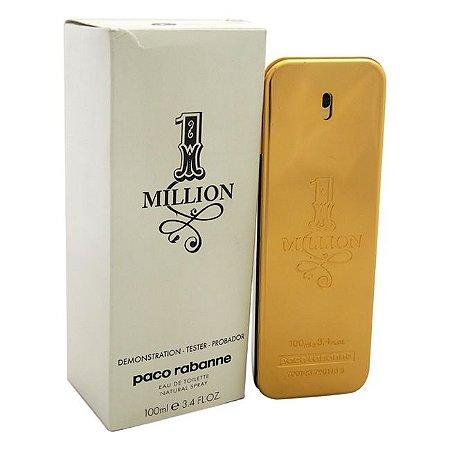 Tester 1 Million Eau de Toilette Paco Rabanne - Perfume Masculino - 100ML