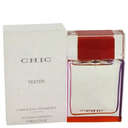 Tester Chic Eau de Parfum Carolina Herrera - Perfume Feminino 80 ML
