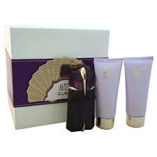 Kit Alien Thierry Mugler EDP- Perfume Feminino 60ML +  Voile d'eclat 100ML + douched´éclat 100ML