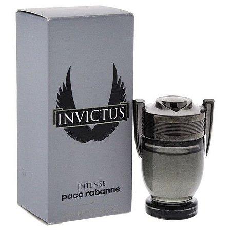 Miniatura Invictus Intense Eau De Toilette Paco Rabanne - Perfume Masculino 5 ML