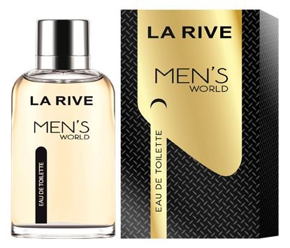 Men´s World Eau de Toilette La Rive- Perfume Masculino 90 ML