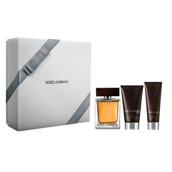Kit The One Eau de Toilette Dolce & Gabbana - Perfume Masculino 100 ML + Gel de Banho 50 ML + Pós Barba 75 ML