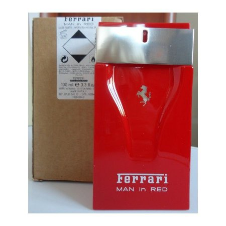 Téster Ferrari Man In Red Eau de Toilette- Perfume Masculino 100 ML