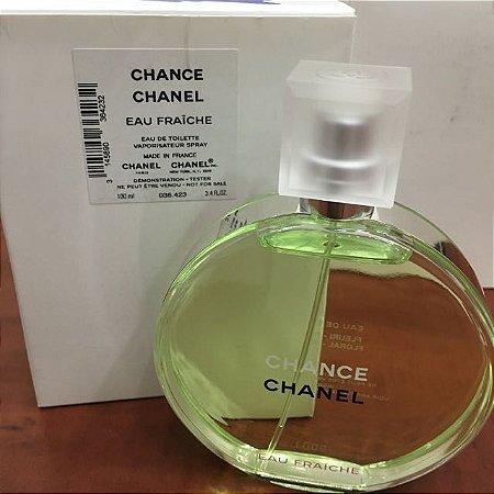Téster Chance Eau Fraiche Chanel- Perfume Feminino Eau de Toilette 100 ML