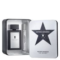 Kit The Secret Masculino Eau de Toilette Antonio Banderas- Perfume 100 ML + Perfume 10 ML