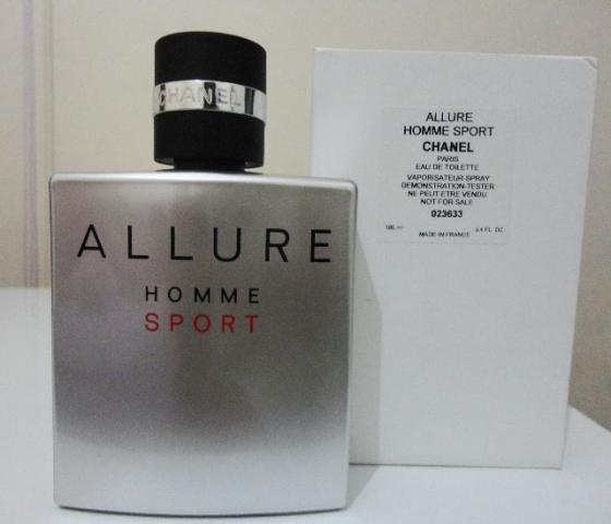 Téster Allure Homme Sport Eau de Toilette Chanel 100ML