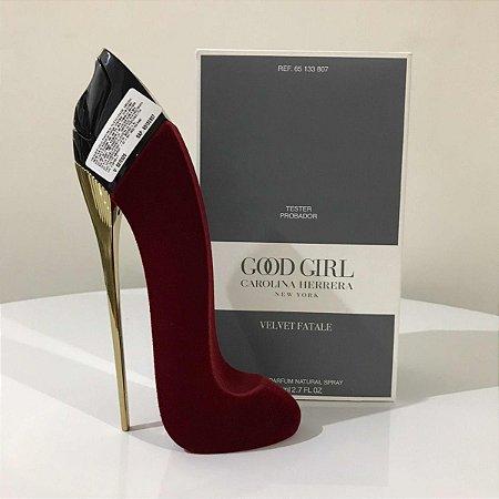Téster Good Girl Velvet Fatale Carolina Herrera - Perfume Feminino 80 ML