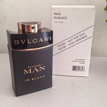 e712e252316e6 Perfume Téster Bvlgari Man In Black Eau de Parfum Masculino 60 ML ...