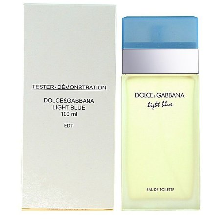 Téster Light Blue Eau de Toilette Feminino Dolce & Gabbana 100 ML