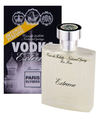 Vodka Extreme For Men Eau de Toilette Paris Elysees 100 ML