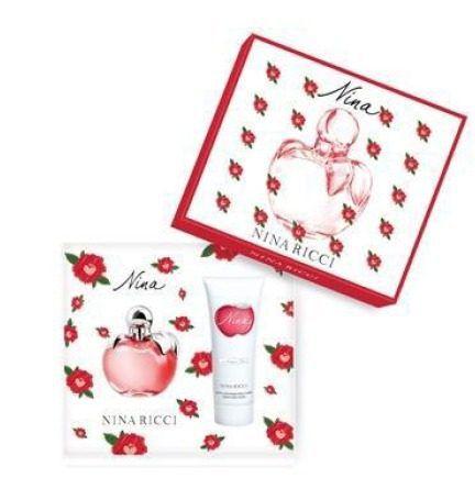 Kit Nina Nina Ricci  Eau de Toilette Perfume Feminino  80ml + Loção Corporal 100 ML