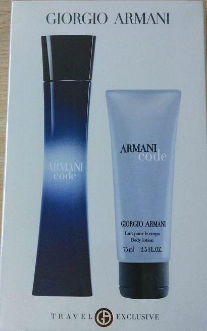 Kit Armani Code Eau de Parfum Pour Femme- Perfume 30 ML+ Creme Hidratante 75 ML
