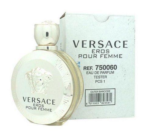 Téster Eros Pour Femme Versace Eau de Parfum - Perfume Feminino 100 ML