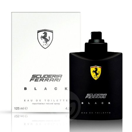 Tester Scuderia Ferrari Black Eau de Toilette Masculino - 125ML