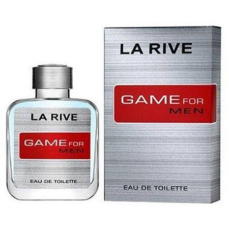 3 Unidades Game for Man Eau de Toilette La Rive - Perfume Masculino 100ml