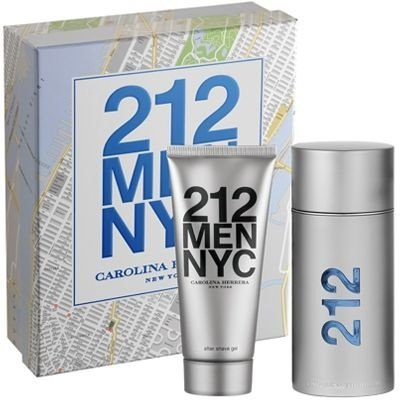 Kit 212 Men Pefume EDT 100ml + After Shave 100ml