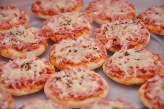 Mini pizza (100 unidades)