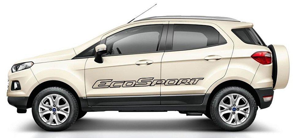 Kit Adesivo faixa lateral tuning Ford Nova EcoSport modelo Nova EcoSport vazada