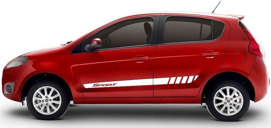 Kit Adesivo Fiat Novo Pálio modelo Sport Listra