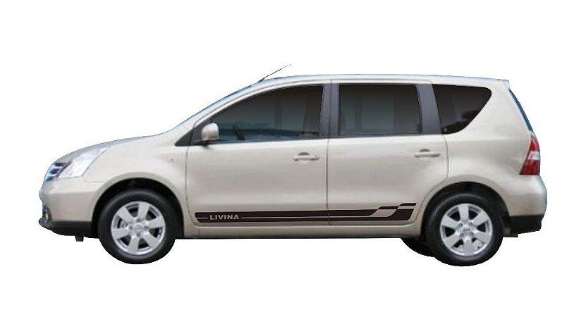 Kit Adesivo lateral Nissan Livina Lv1