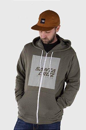 Casaco de Moleton Squared Zip